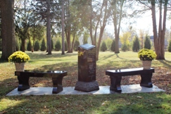 OMC Perinatal Loss Monument at Rochester's Oakwood Cemetery
